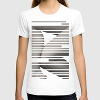 skin layout Womens Fitted Tee White SMALL