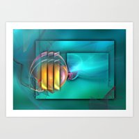 Fantastic World Art Print