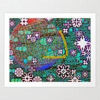 Wintermute Art Print