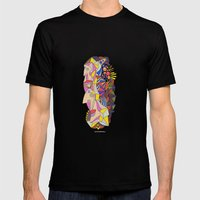 - in the garden - Mens Fitted Tee Black SMALL