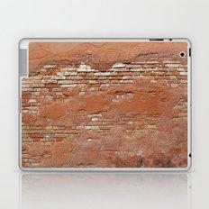 Orange Brick Wall Laptop & iPad Skin