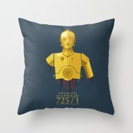 Never Tell Me The Odds (… Throw Pillow