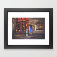 Framed Art Print featuring New York City Rainy Afte… by Vivienne Gucwa