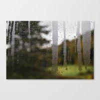Droplet Landscape II Canvas Print