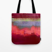 14-42-41 (City Glitch) Tote Bag