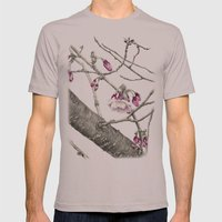 April Blossoms Mens Fitted Tee Cinder SMALL