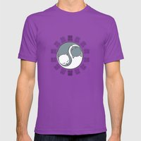 Hugs Mens Fitted Tee Ultraviolet SMALL