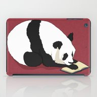 Reading Panda iPad Case
