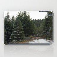 First Winter Snow.. iPad Case
