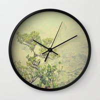 Caribbean Bonsai Wall Clock
