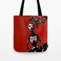 Wandering Skull Tote Bag