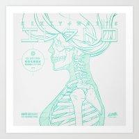 Sketch-Electro-B Art Print