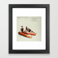 Summer In The City | Col… Framed Art Print