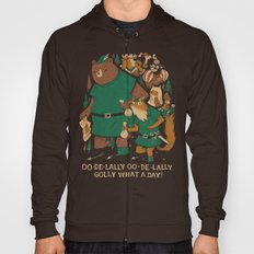 oo-de-lally (brown version) Hoody