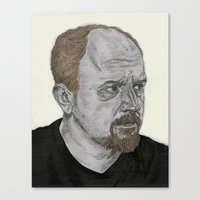 Louis CK Canvas Print