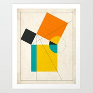 Art Print featuring EUCLID by Jazzberry Blue
