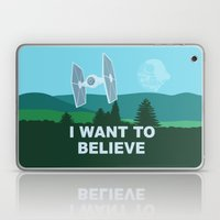 I WANT TO BELIEVE - Star… Laptop & iPad Skin
