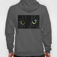 Green Cat Eyes Hoody