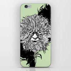 the green man iPhone & iPod Skin