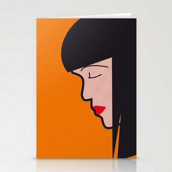 Pop Icon - Mia Stationery Card