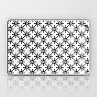 Black and White Custom Pattern 2 Laptop & iPad Skin