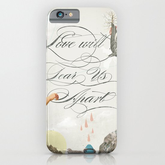 L.W.T.U.A (Love will tear us apart) iPhone & iPod Case