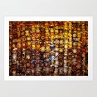 ABSTRACT - Gordion knot Art Print