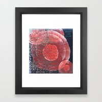 dreaming of the possibilities Framed Art Print