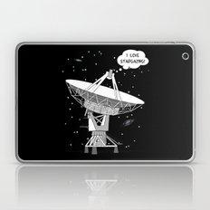 I love stargazing! Laptop & iPad Skin