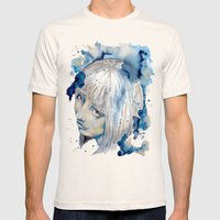 Nieves Watercolor Portra… Mens Fitted Tee Natural SMALL