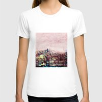 Porto Ribeira Womens Fitted Tee White SMALL