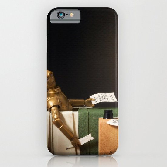 The Death of Robat iPhone & iPod Case