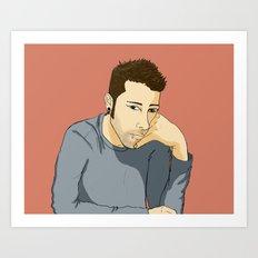 JD Art Print