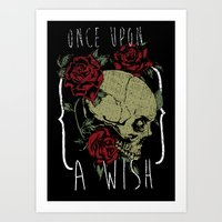 Once upon a wish Art Print