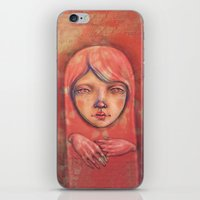 The Ghost In Pink iPhone & iPod Skin