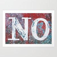 No Art Print