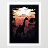 From City To Jungle Art Print