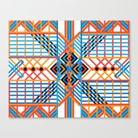 Grid Canvas Print
