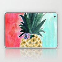 Pineapple Leia Tropical Laptop & iPad Skin