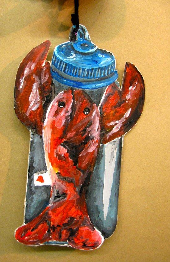 Beanie Baby Pincher Art Print