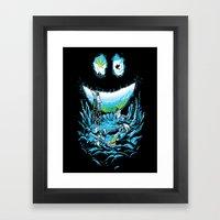 Cave-ities Framed Art Print