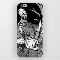 BOY WHO WHISTLES IN HIS SLEEP iPhone & iPod Skin