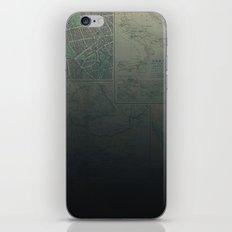 Midnight Map iPhone & iPod Skin