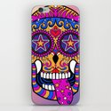 Sugar Skull #1 iPhone & iPod Skin