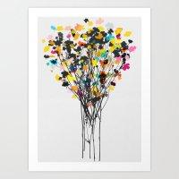 buttercups 2 Art Print