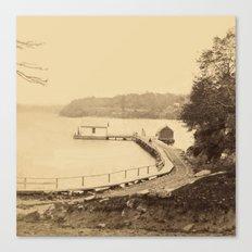 Boat Landing, Ticonderog… Canvas Print