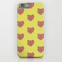 iPhone & iPod Case featuring Rosa [yellow] by Veronica Galbraith