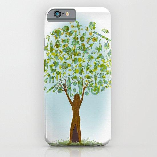 Life tree iPhone & iPod Case