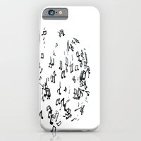 iPhone & iPod Case featuring MUSICMAN by Goye