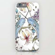 Narwhal pattern iPhone 6 Slim Case
